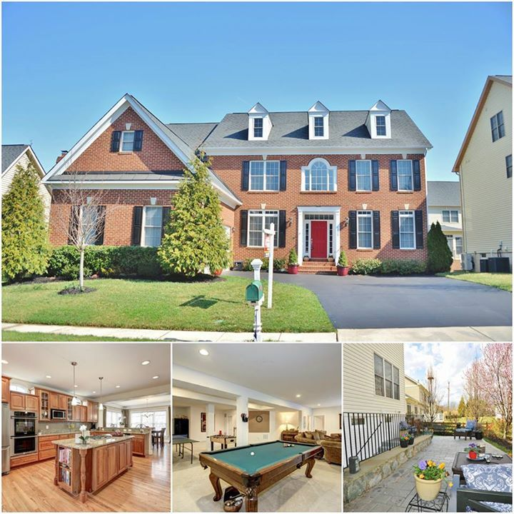 Luxury Home Features luxury home at 6412 gayfields road in alexandria, va features tons