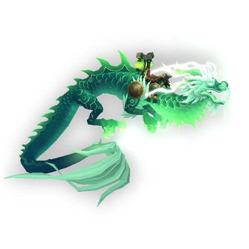 Whatever happened to the Heavenly Jade Cloud Serpent? The