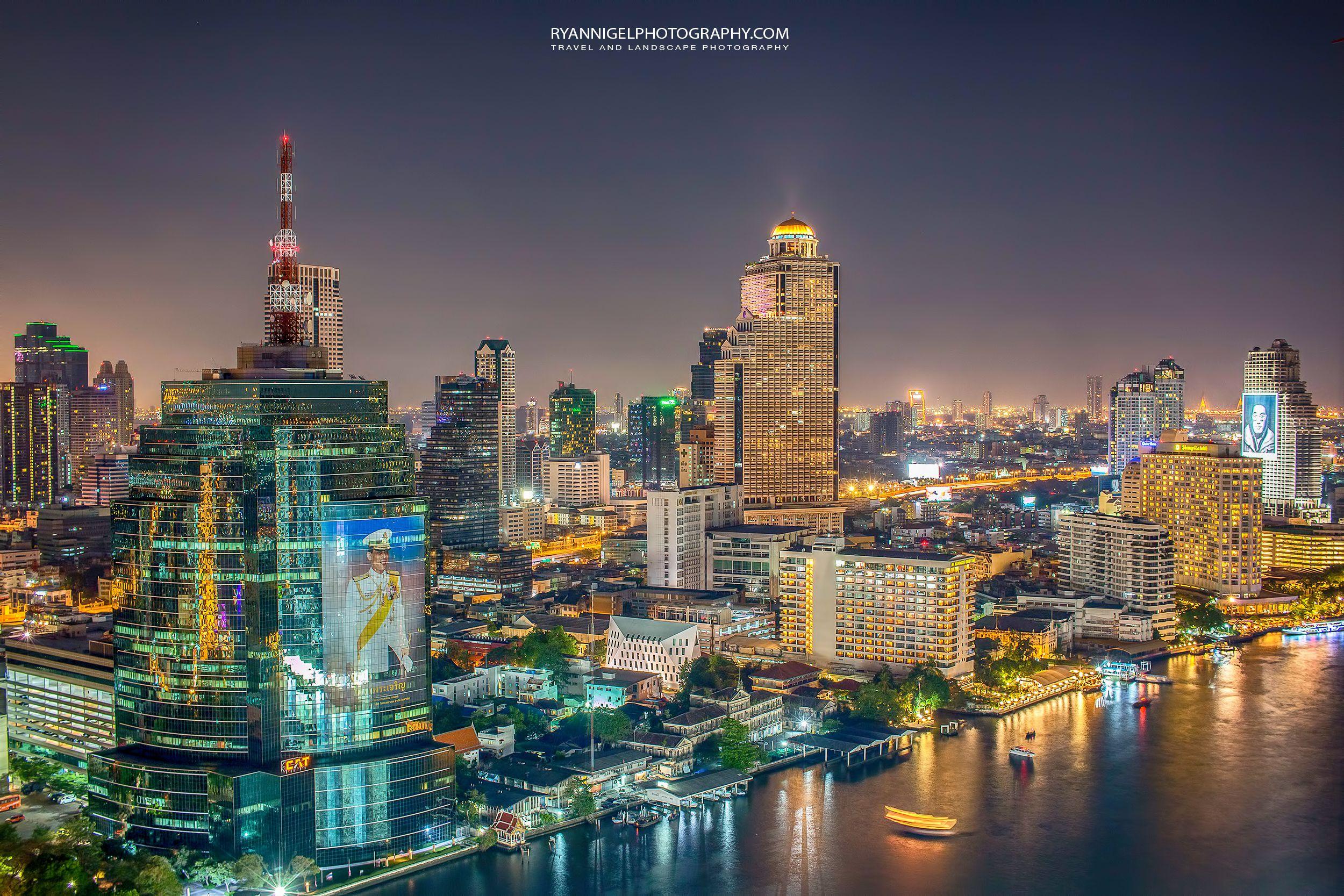 Bangkok At Night In 2020 Landscape Photography Cityscape Travel