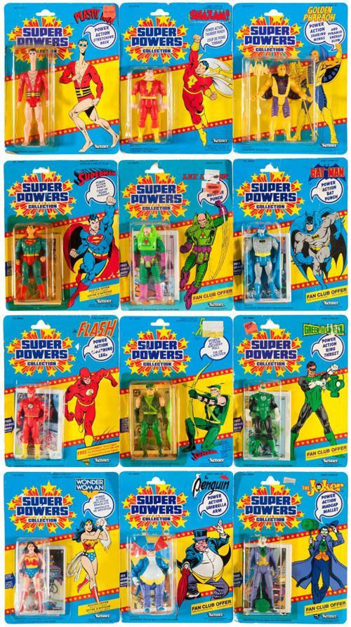 The now legendary Kenner's Super Powers action figure line