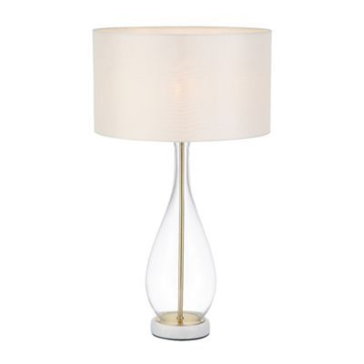 Home collection finn table lamp debenhams lounge £72 including shade dimensions