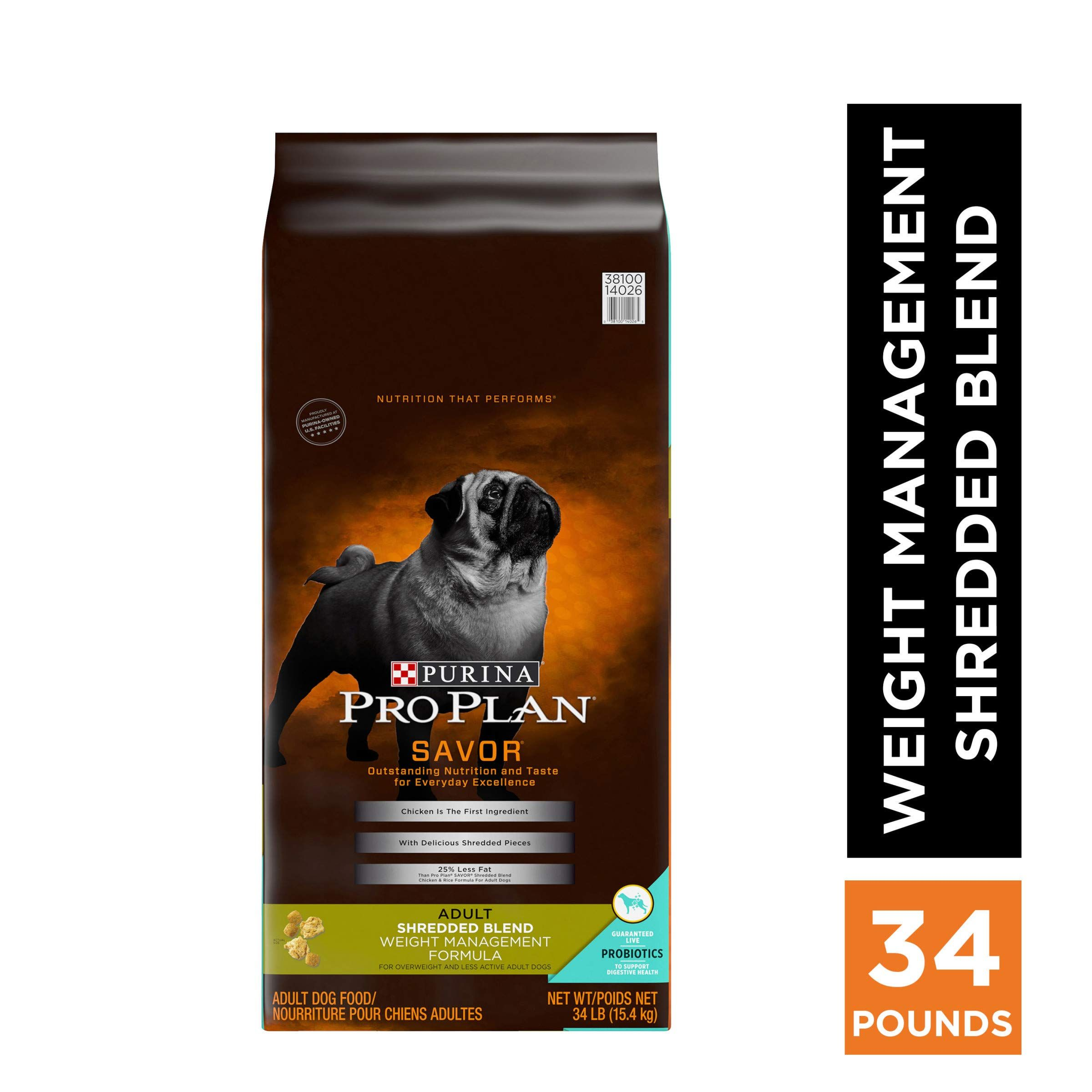 Purina Pro Plan Weight Management Adult Dry Dog Food Dry Dog