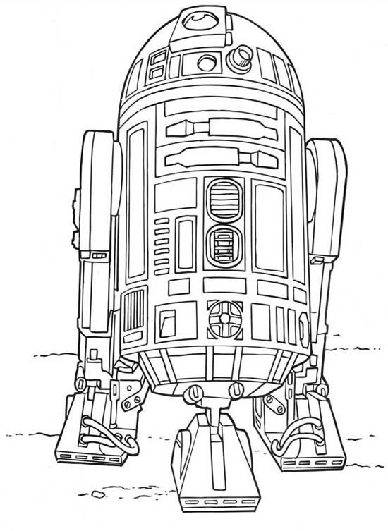 Coloriage Star Wars A Imprimer Coloriage Star Wars Coloriage