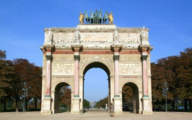 Visit The Arc De Triomphe Du Carrousel Jardin Des Tuileries