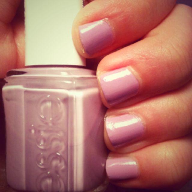 my Essie nails! Color: nice is nice