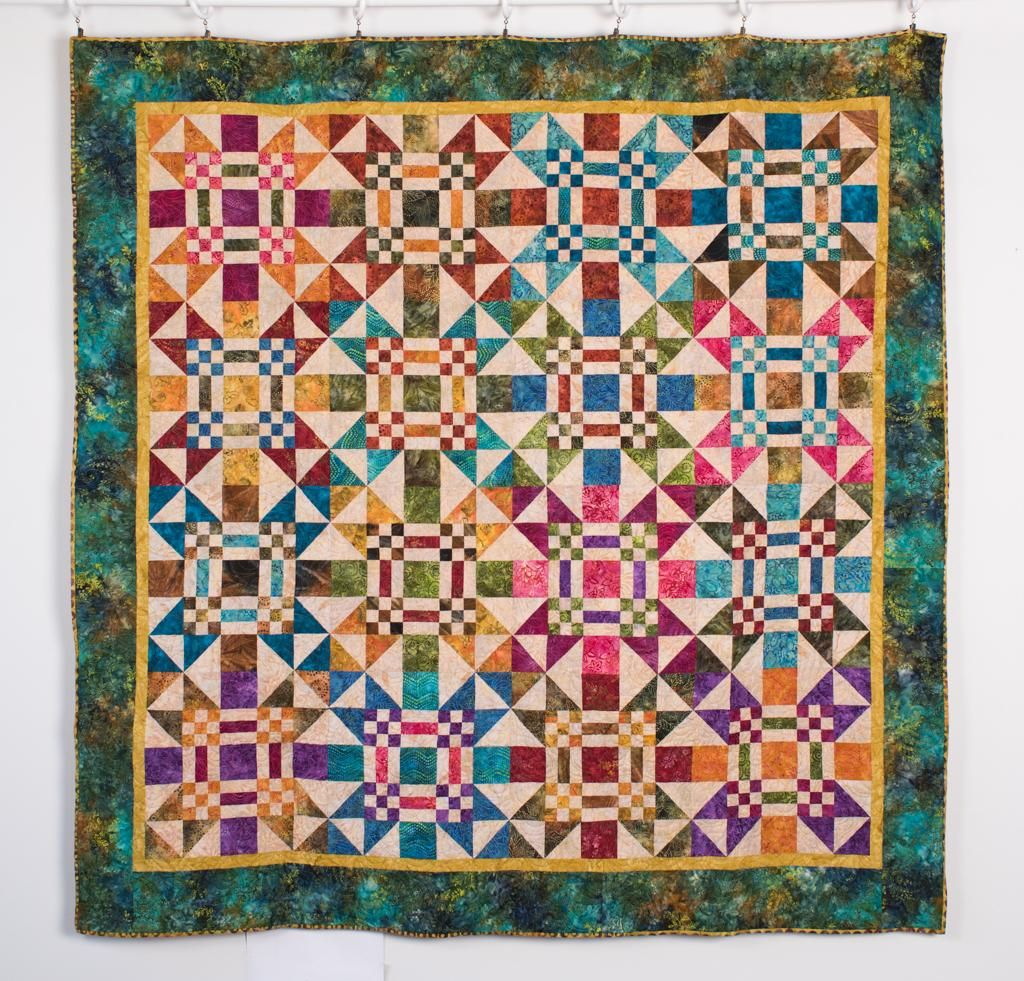 Dreaming Quilt Kit By Laundry Basket Quilts Featuring Moda Edyta S