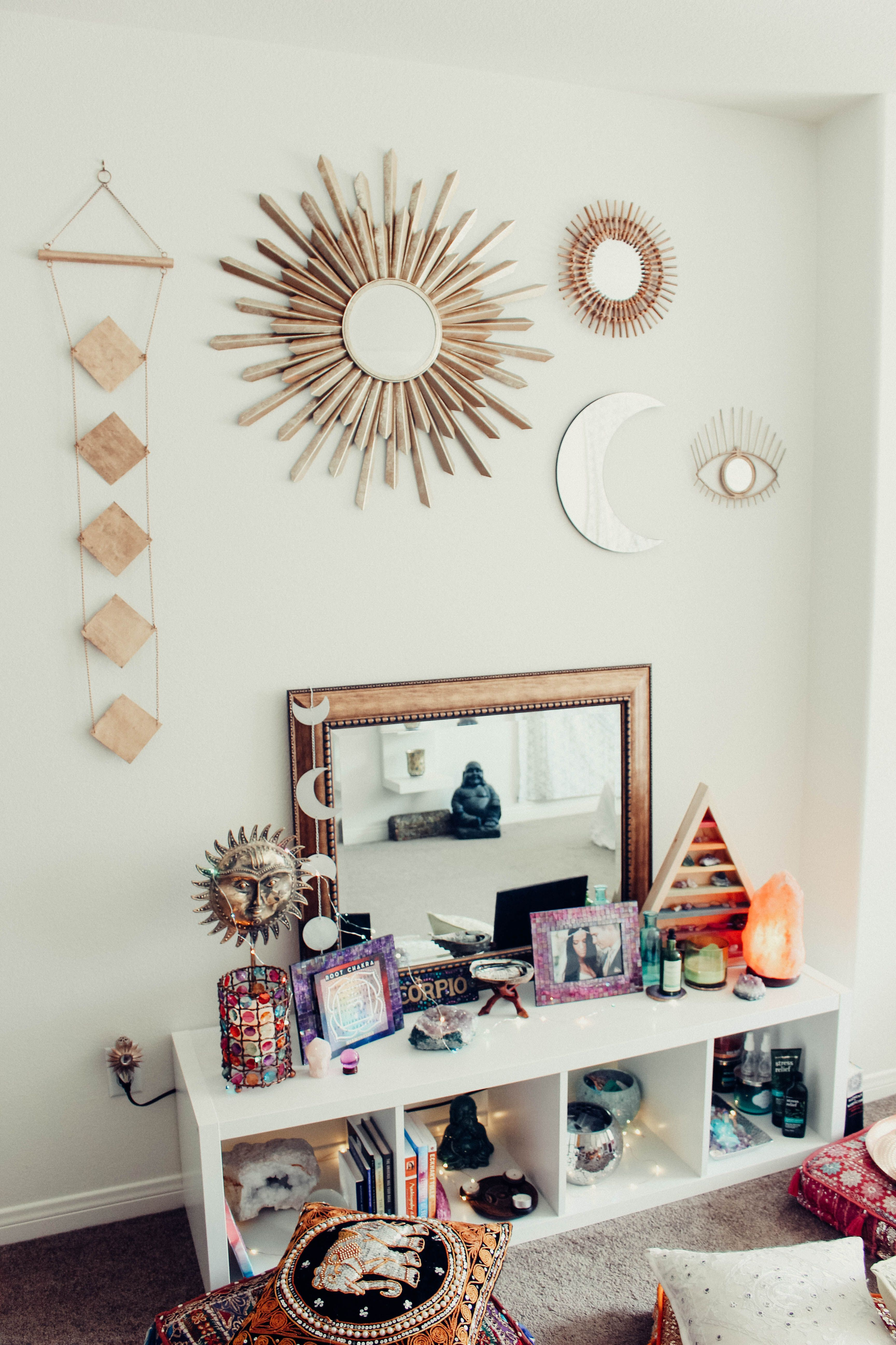 Meditation Room Designs: My Zen Space Diamond Perspective Wall Hanging, All Seeing