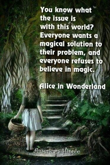 Image result for alice in wonderland quotes miracles