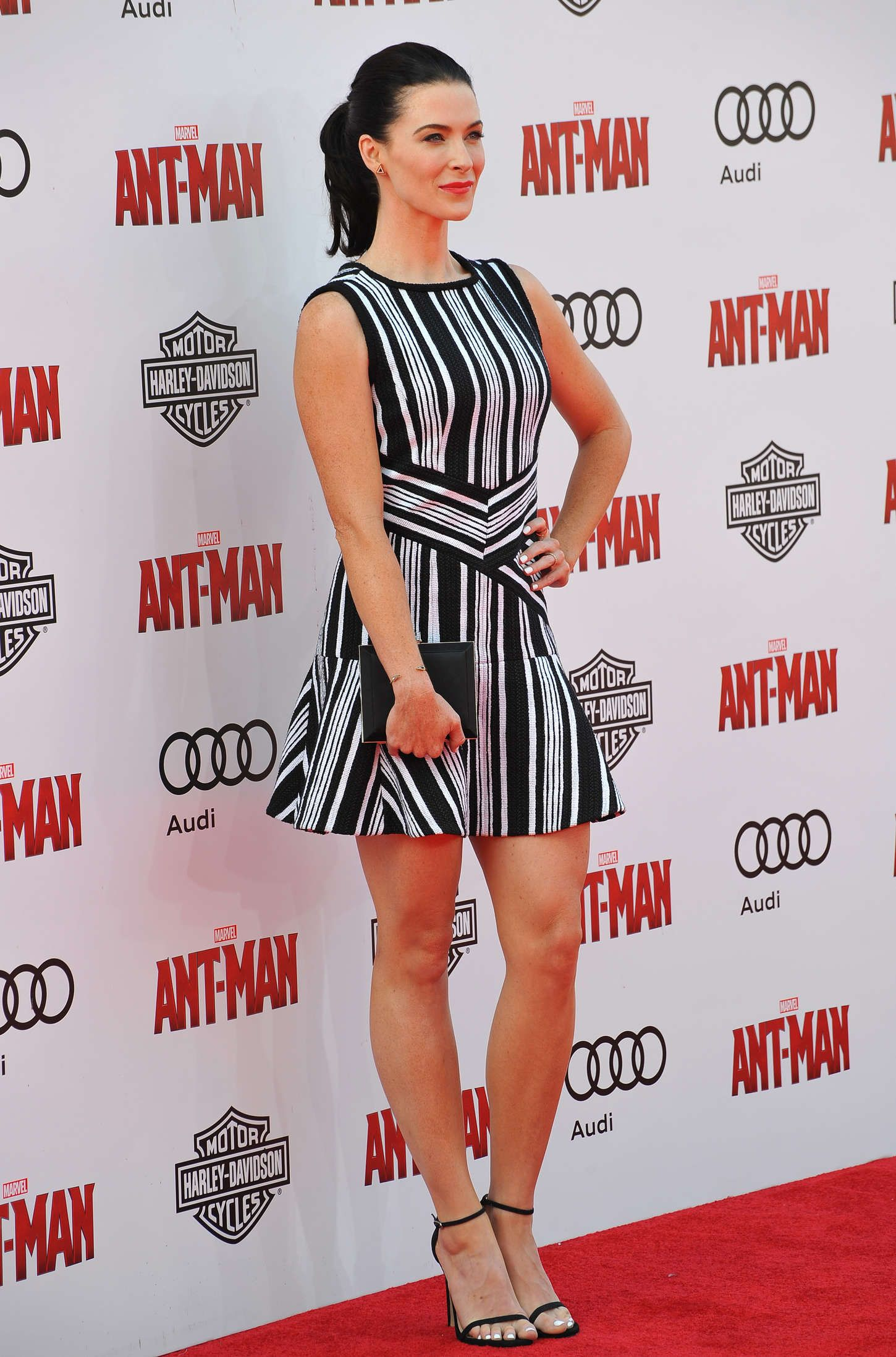 Bridget Regan Legs Bridget Regan Marvels Ant Man Premiere 18 Gotceleb