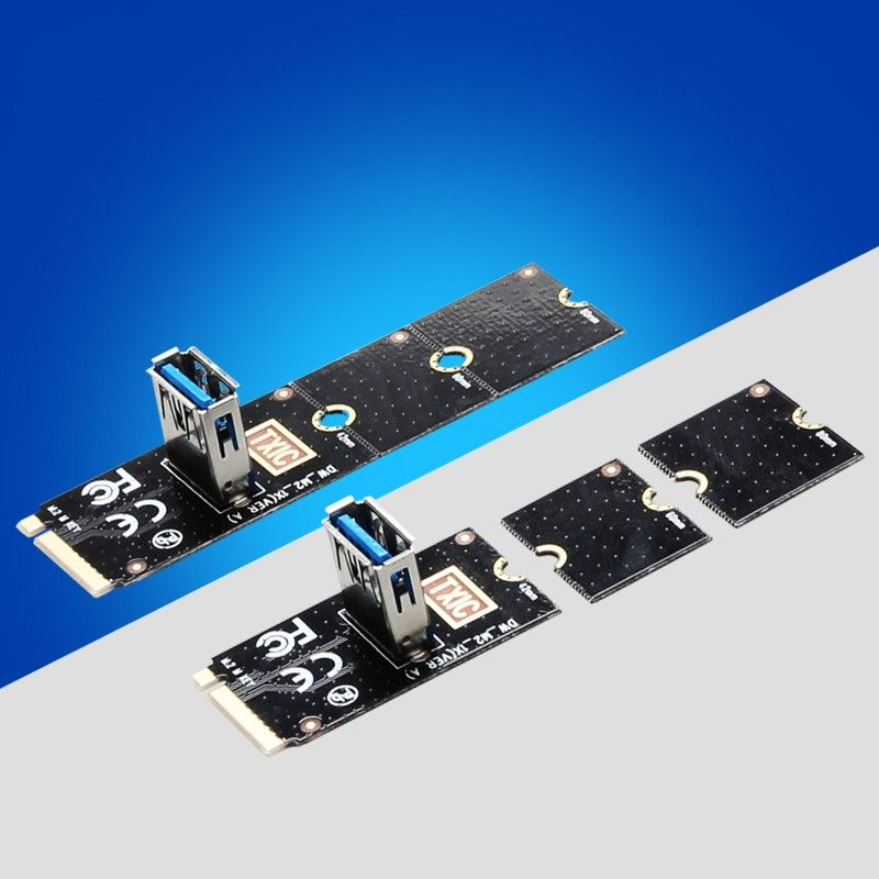 Ngff To Pci E Riser Card M2 Slot To Pcie Expansion Card Convertor