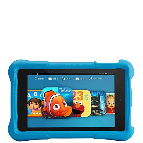 Fire Hd 6 Kids Edition 6 Hd Display Wi Fi 8 Gb Blue Kid Proof Case Http Www Amazoncraze Com Electronics Fire Hd Fire Kids Childproofing Kids Christmas