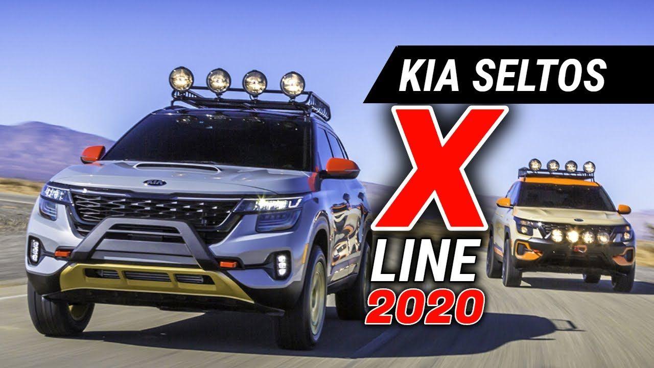 All New Kia Seltos X Line Concept Kia Seltos X Line Awd Offroad Editio Kia Awd Car