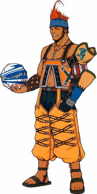 Wakka Characters Art Final Fantasy X Final Fantasy Characters Final Fantasy Artwork Final Fantasy Art