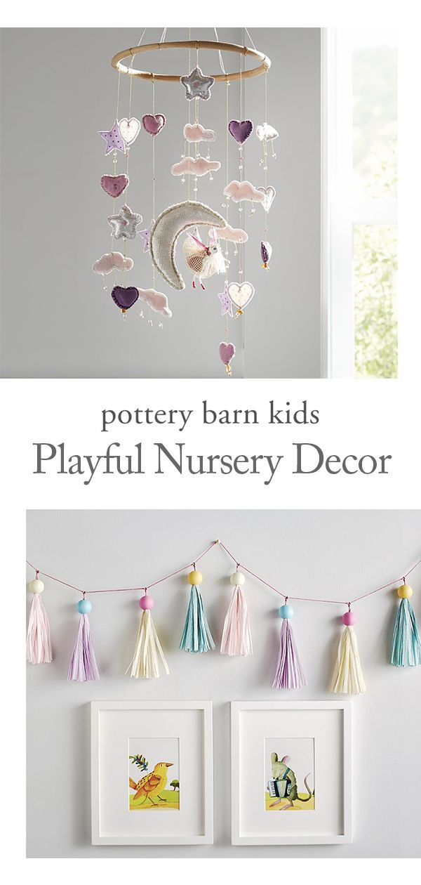 Add A Touch Of Whimsy To Their Nursery With A Pom Pom