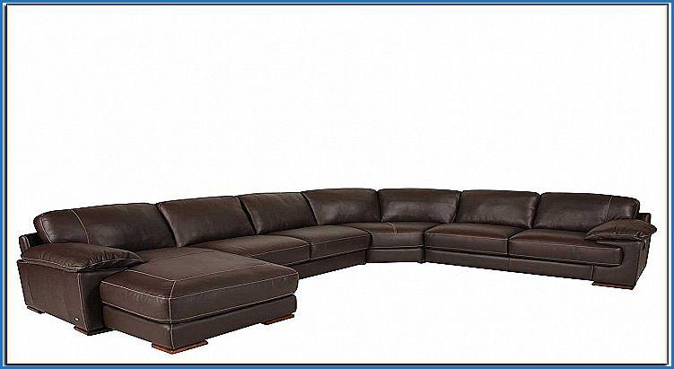 Beautiful Leather Sectional sofa Canada | Sofa Design ...