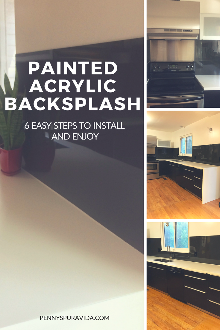 - How To Install A Plexiglass/Acrylic Backsplash In 6 Easy Steps