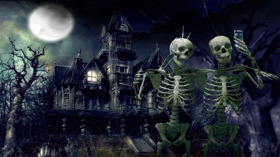 Spooky Halloween Background Desktop Computer Halloween Desktop Wallpaper Halloween Images Halloween Wallpaper