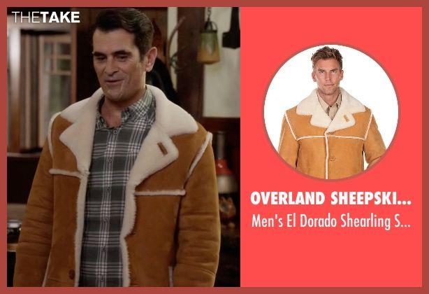 Overland Sheepskin Co Men's El Dorado Shearling Sheepskin Coat as seen on Phil Dunphy in Modern Family | TheTake