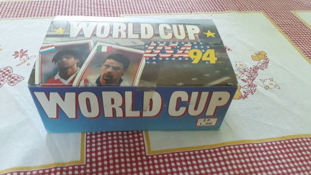 Euroflash Broca World Cup 1994 Usa 94 Fifa Sticker Box 100 Packs Packets Bustine World Cup Fifa Football And Basketball