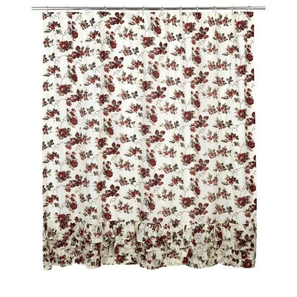Youll Love The Thea Cotton Ruffled Shower Curtain At Wayfair