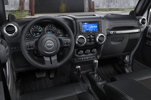 2012 Jeep Wrangler Call Of Duty Mw3 Special Edition Interior