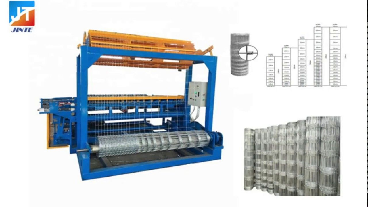 Automatic Cattle Fence Mesh Making Machine Field Fence Machine Making Machine Wire Mesh Fence Field Fence