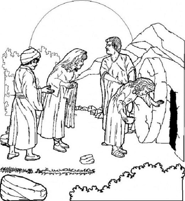 easter coloring pages religious education | Religious | Pinterest