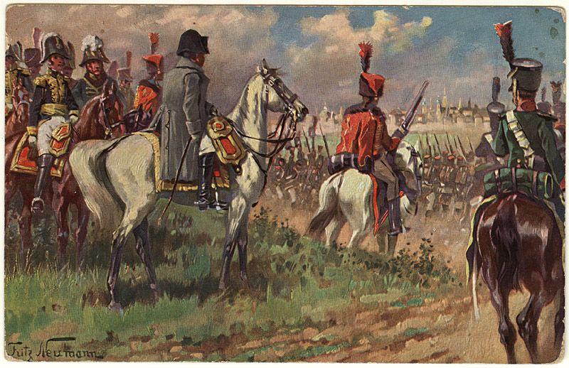 Открытка на тему 1812 года