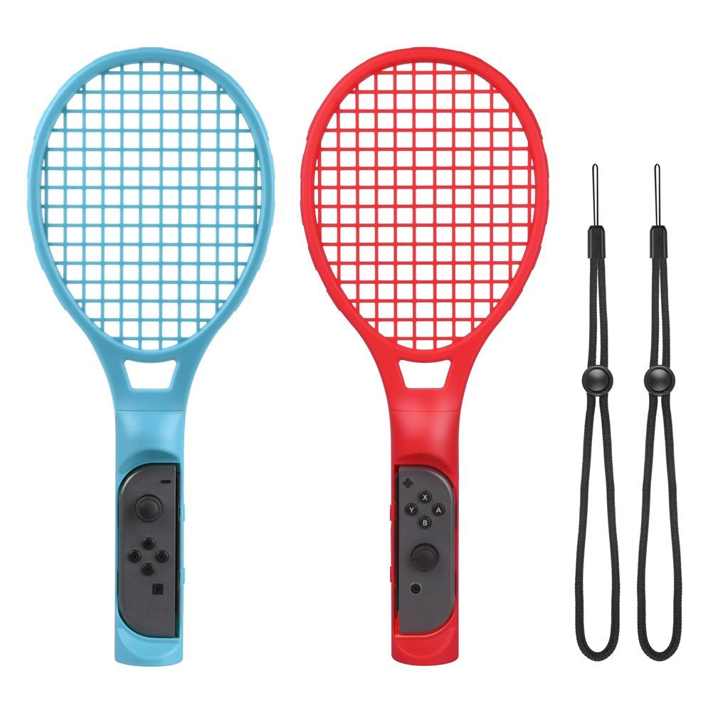 Choetech Tennis Racket For Nintendo Switch Joy Con Tennis Racket With Hand Straps For Mario Tennis Aces Game Controlle Tennis Racket Rackets Tennis