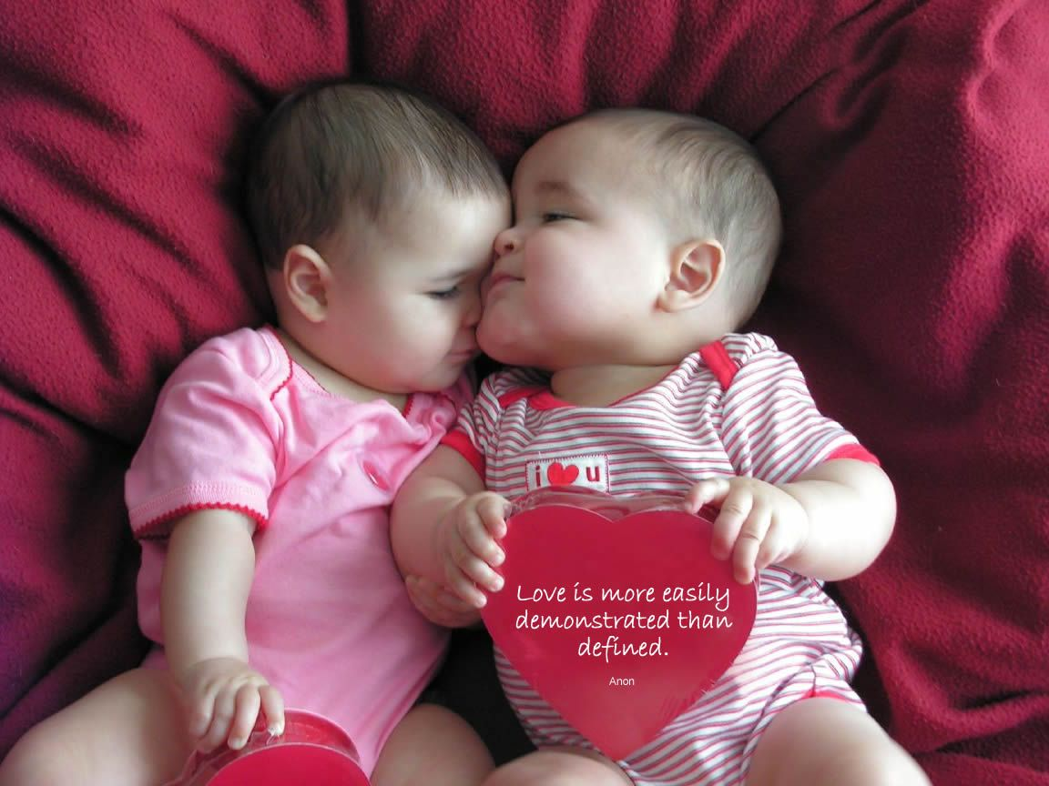 Cute Baby Couple Images with Love ...