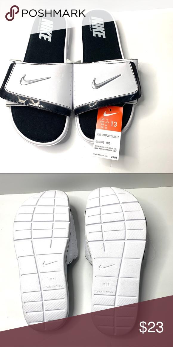 NWT Nike comfort slide 2 men's size 13