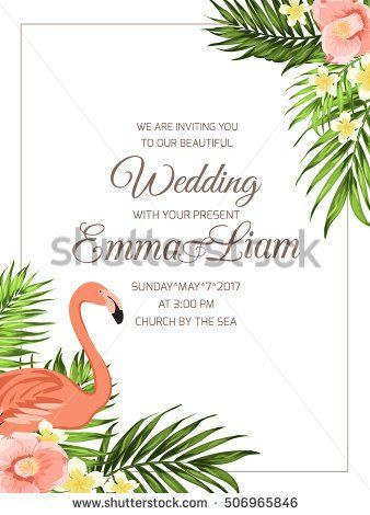 Marriage ceremony invitation template Corner border frame with - naming ceremony invitation