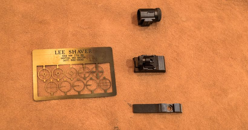 Increased Accuracy From An Open Sight Muzzleloader Flash Drive Usb Flash Drive Sights