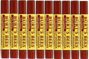 TEN (10) New & Sealed Burts Bee Lip  Shimmers NUTMEG: Discontinued  #MakeUp #Beauty #Cosmetics #Deals #ONSales - http://goo.gl/3or5ve