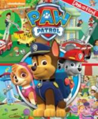 Look and Find: Paw Patrol illustrated by Fabrizio Petrossi