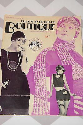 1971 Jack Frost Vintage Gypsy Crochet  Pattern Magazine Very HipsterChic