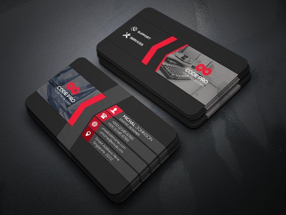 Ultra Modern Business Card By Create Art On Creativemarket With