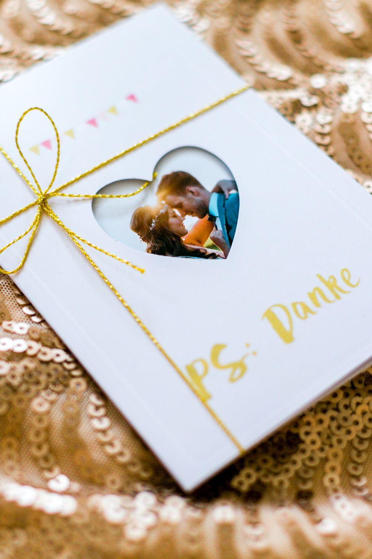 Unsere Diy Hochzeitsdankeskarten Mit Fotos Der Cewe Fotowelt