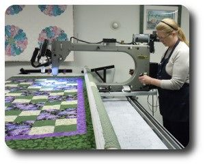 square quilt fabadashery on quilting the arm half triangle longarm machine bristol long
