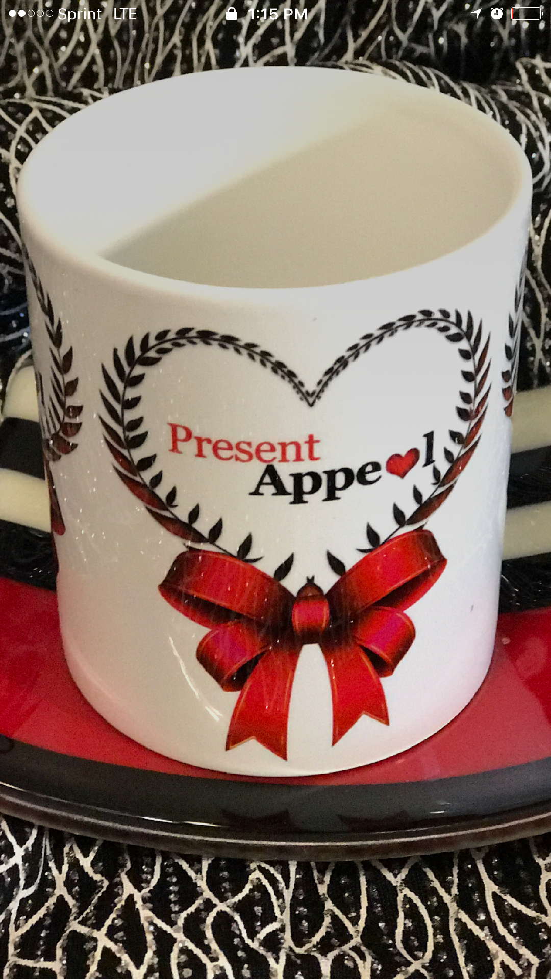Present Appeal Brand Mug with Heart Logo in 2020 Branded