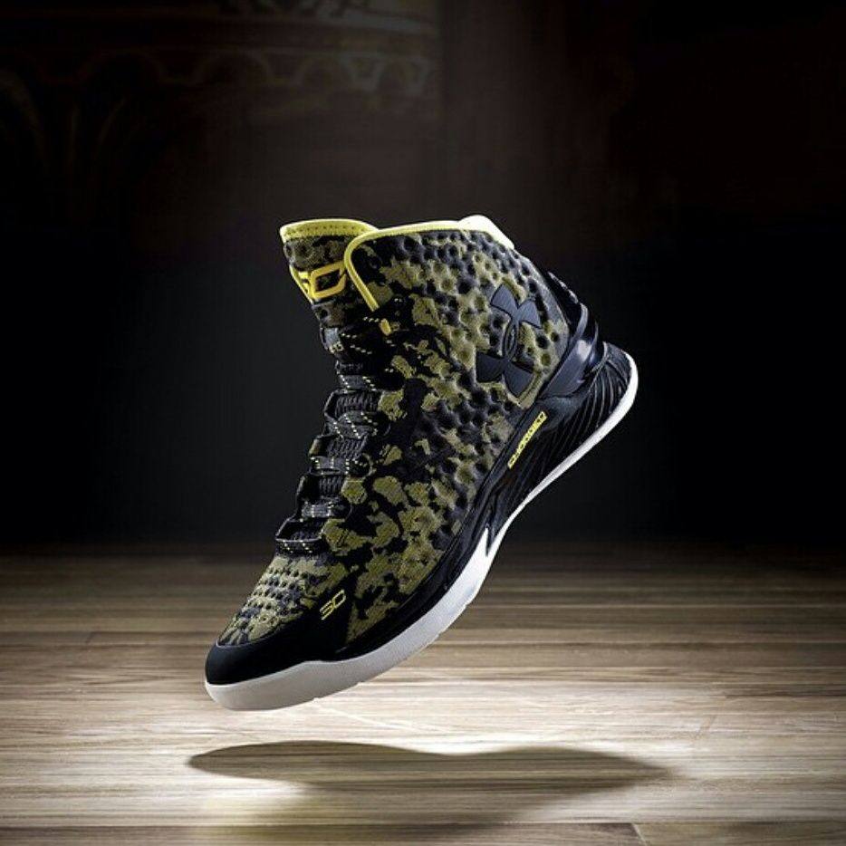 Under Armour Stephen Curry One Okay. Now I'm intrigued. Never tried Under Armour but something's nagging me to. Must be the hype.