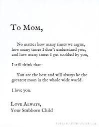 Image result for thank you mom quotes from daughter | my board