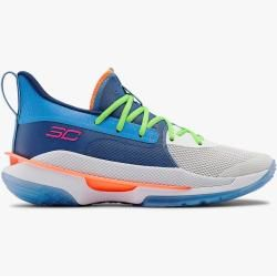 Under Armour Herren Basketballschuhe Ua Curry 7 Blau 45.5 Under Armour