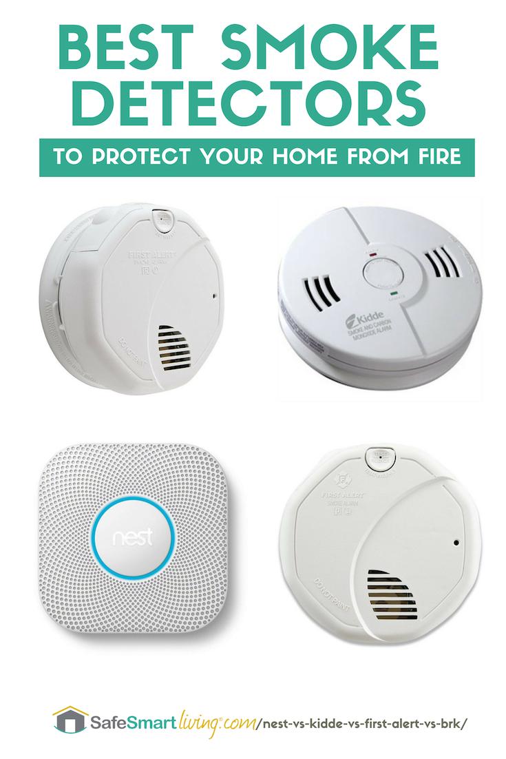 Best Smoke Detector Nest Vs Kidde Vs First Alert Vs Brk More Smoke Detector Fire Detectors Detector