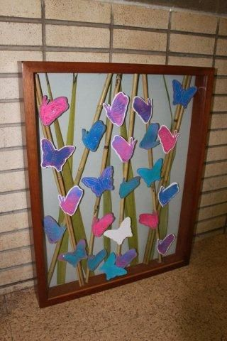 Bamboo And Butterflies 2nd Grade Auction Project Auction