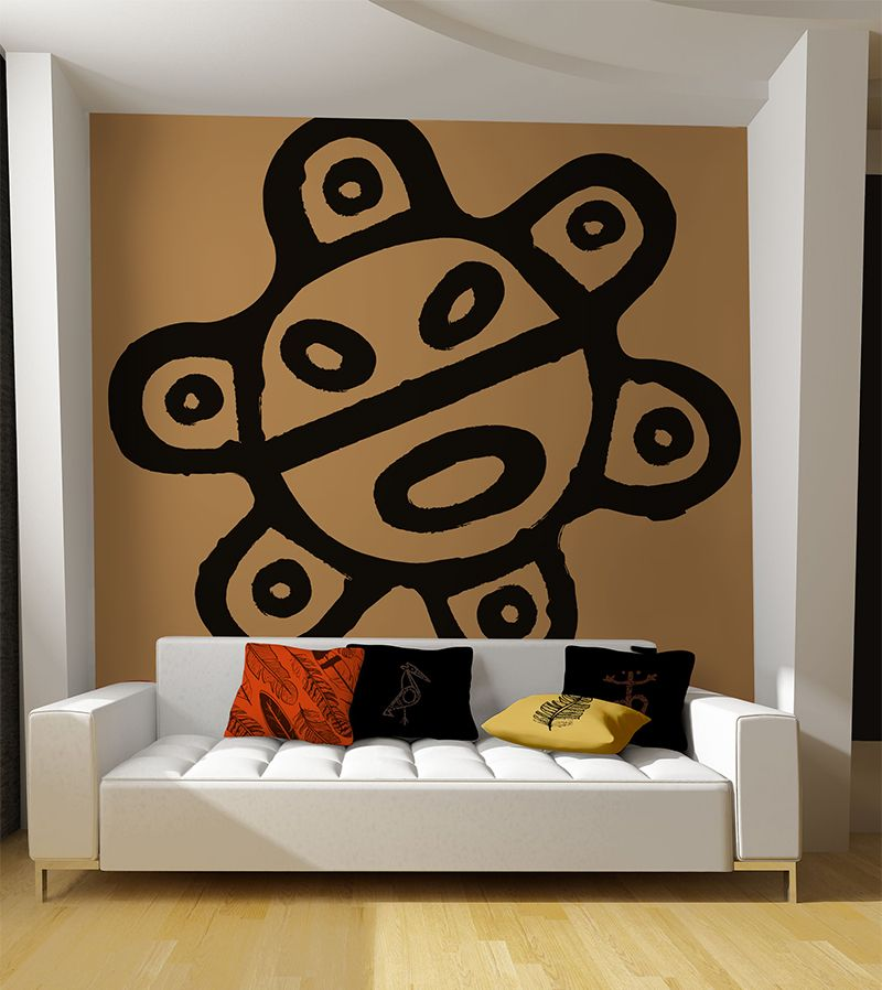 Home Interiors Puerto Rico: Sol De Jayuya Brushed Wall Decal