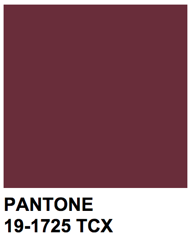 Pantone 19 1725 Tcx Color Name Tawny Port Colors Pinterest