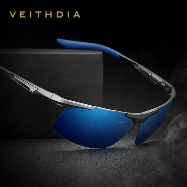7bb1130a98 VEITHDIA Aluminum Magnesium Men s Sunglasses Polarized Men Coating Mirror  6562
