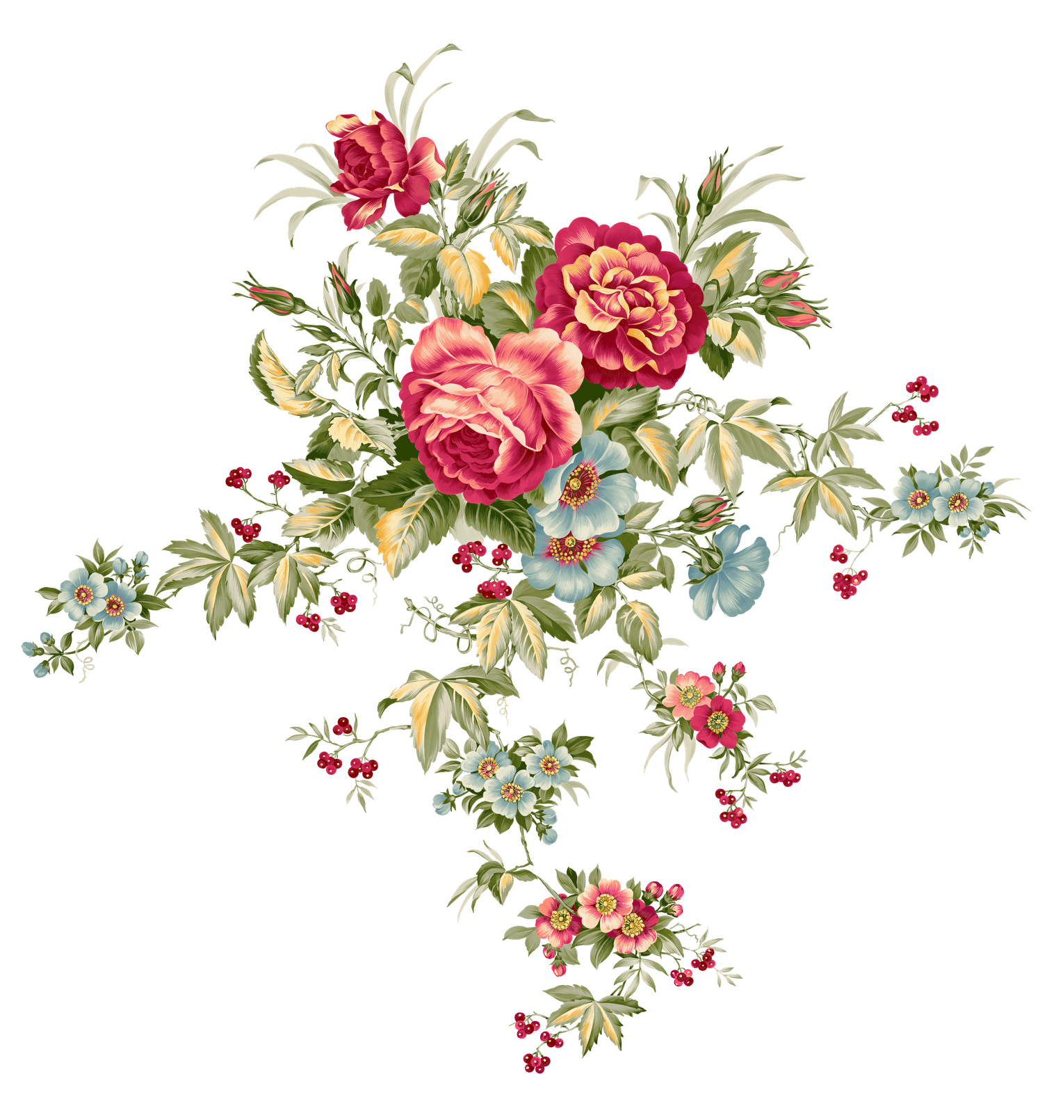 png Flower png SYEDIMRAN Flower art, Vintage flowers