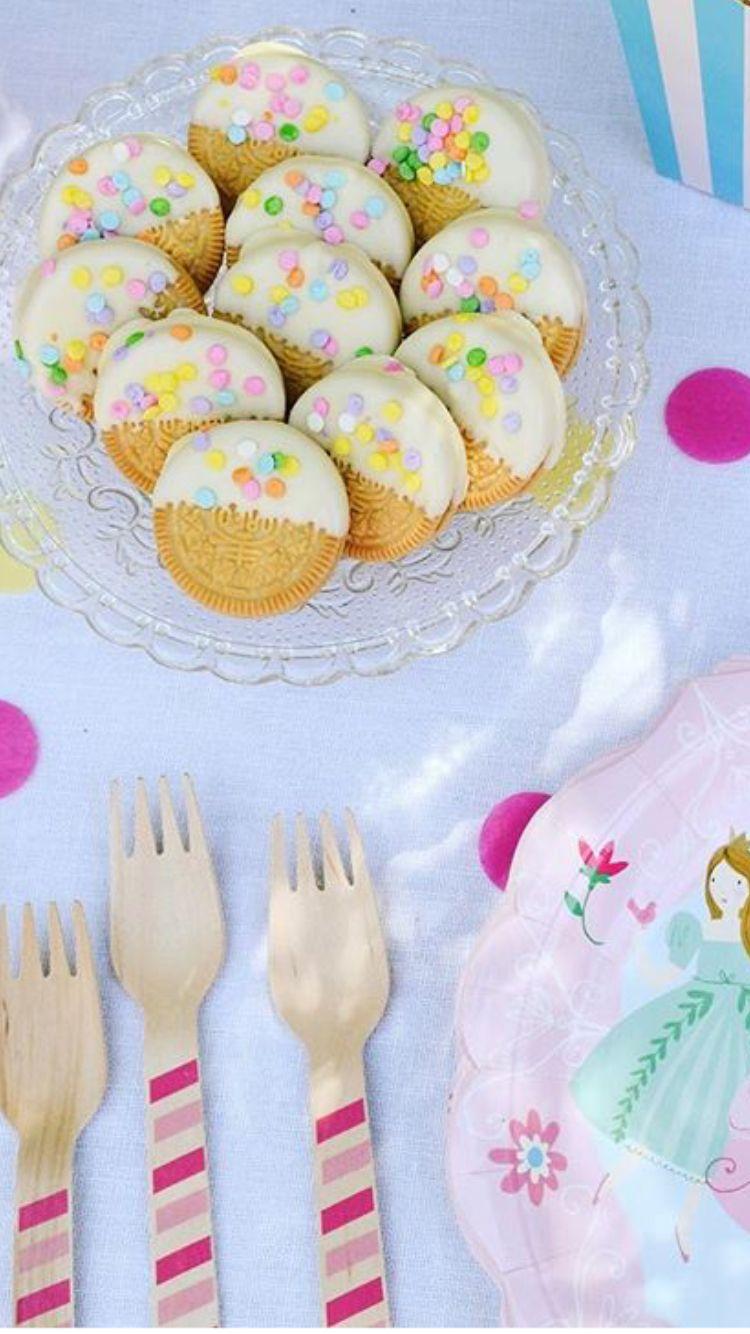 Decoracion simple de galletas para un toque más personal!